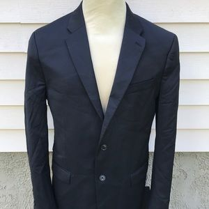 Calvin Klein Slim Fit Sz 42r Black Suit Blazer